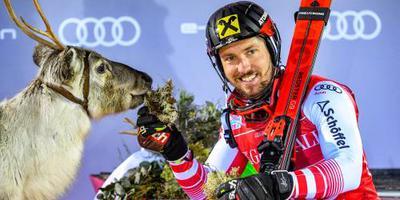 Hirscher begint seizoen met zege op slalom