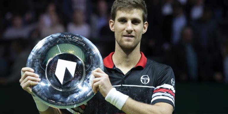 Klizan wint tennistoernooi Rotterdam