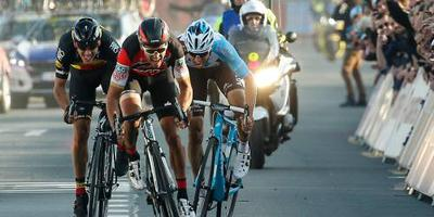 BinckBank sponsor wielerwedstrijd Harelbeke