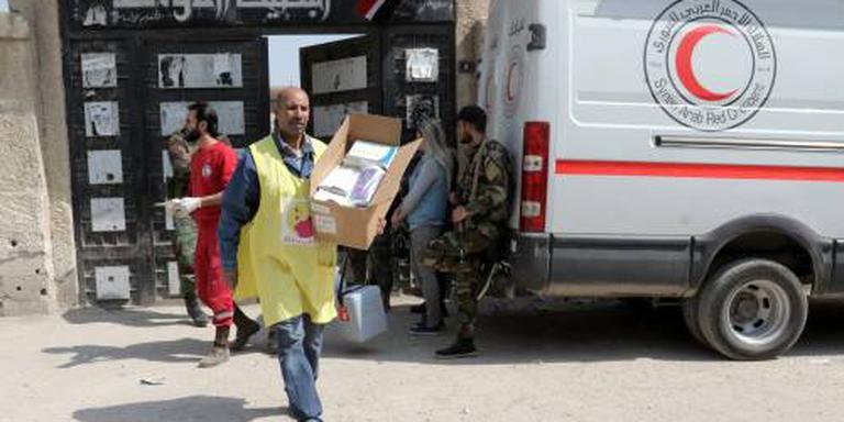 Weer hulpkonvooi naar Oost-Ghouta