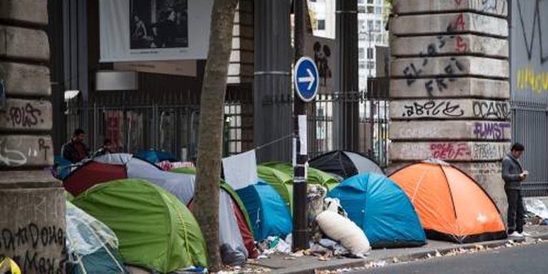 Frankrijk wil geen migrantenkampen meer