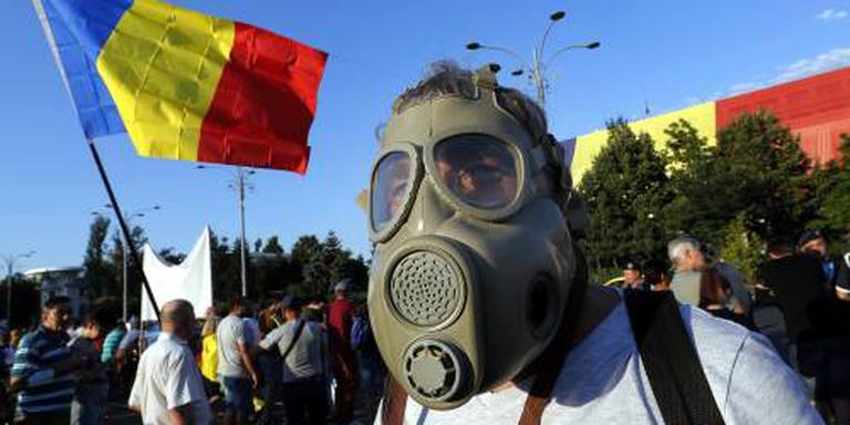 Opnieuw massale protesten in Roemenië