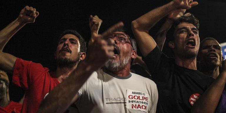 Opstootjes buiten Braziliaanse Senaat