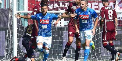 Napoli wint bij Torino