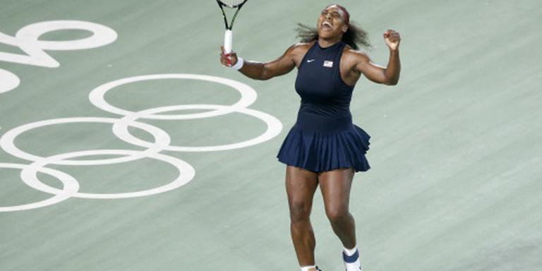 Serena Williams wel verder in enkelspel