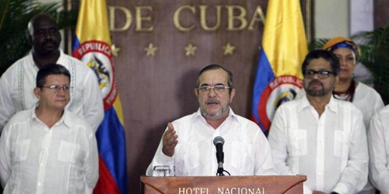 FARC legt om middernacht wapens neer