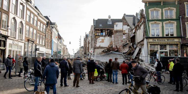 Oorzaak instorten pand Den Bosch onbekend