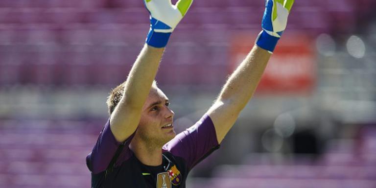Cillessen staat voor debuut Barcelona