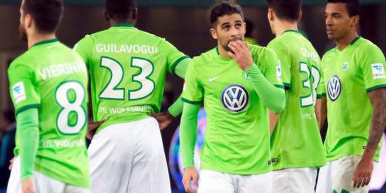 Bruma in slotfase onderuit met Wolfsburg