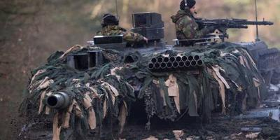 Militairen gewond bij oefening in Duitsland. Foto: ANP