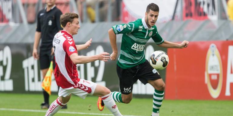 FC Utrecht viert eerste competitiezege