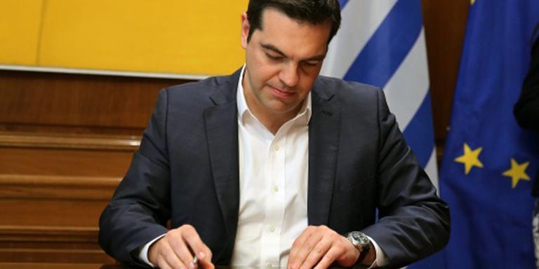 Tsipras wil EU-top over nieuwe deal