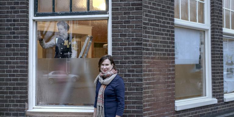 Marjan Jager opent eetwinkel Van Jan. Foto Jan Zeeman