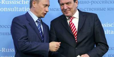 'Oud-kanselier Schröder staatsvijand Oekraïne'
