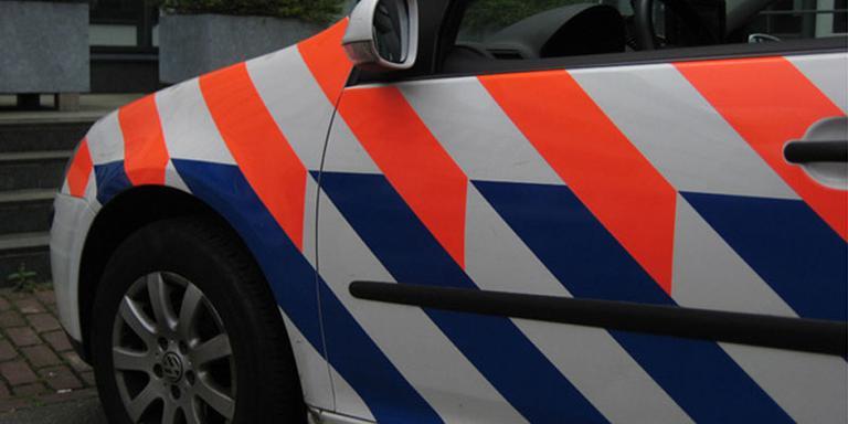 Weg dicht door ongeval bij Zandeweer.