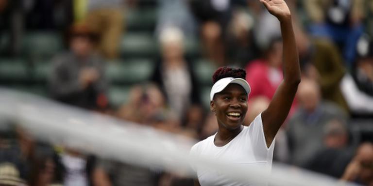 Ook Venus Williams naar kwartfinale