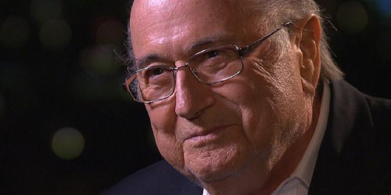 Blatter spreekt pers maandag toe