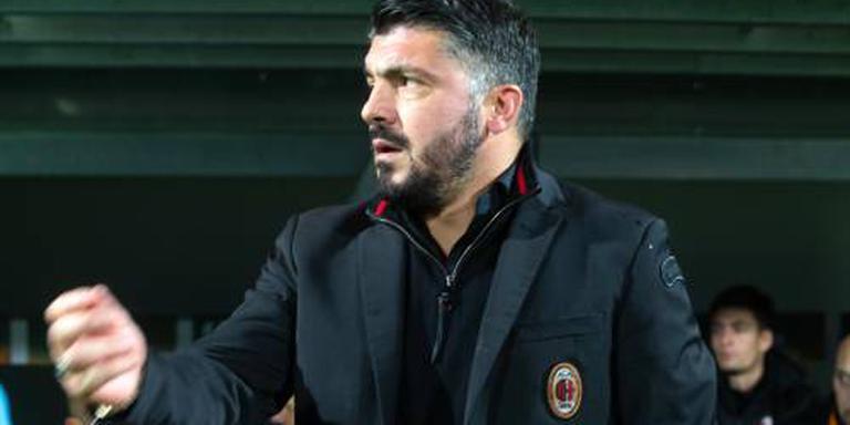 Gattuso verliest met AC Milan