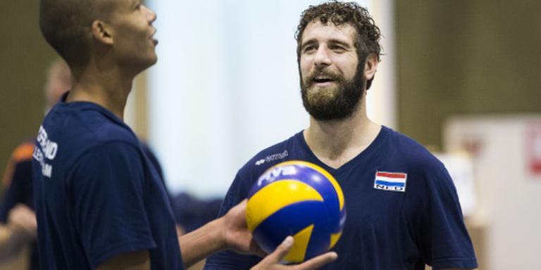 Abdelaziz als diagonaal bij volleybalselectie
