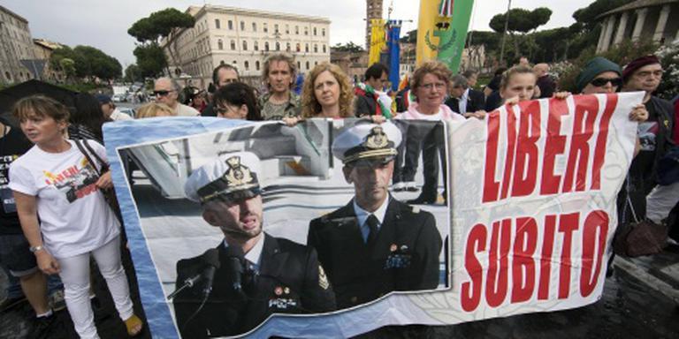 Hof gelast India Italiaan vrij te laten