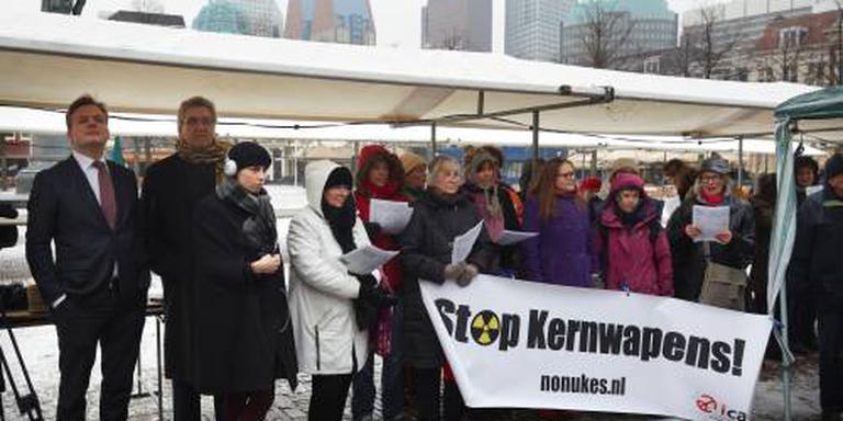Nederland stemt niet bij kernwapenresolutie