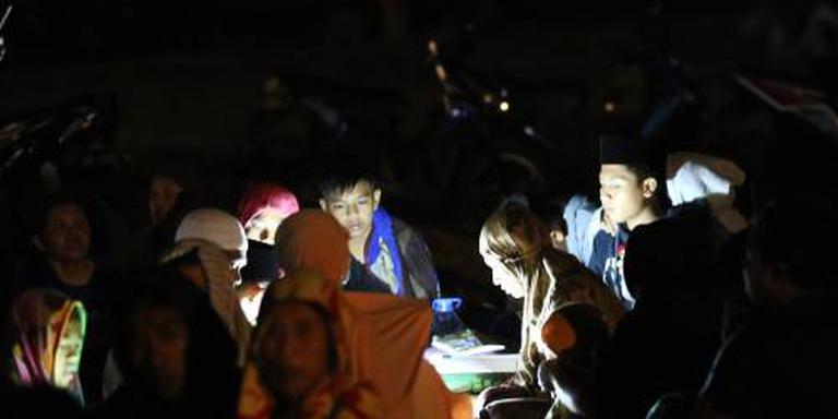 Rode Kruis: Mensen slapen op straat op Lombok