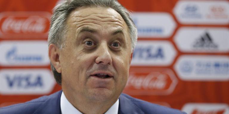 Russische sportminister Moetko blijft aan