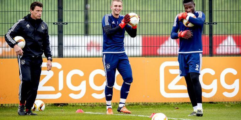 Onana verdedigt doel Ajax