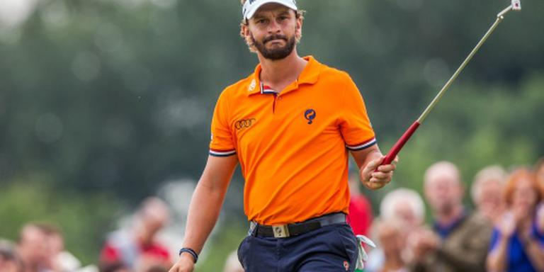 Golfer Luiten grijpt tweede titel KLM Open