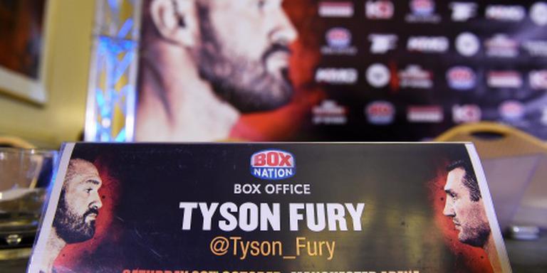 'Boksgevecht Fury - Klitsjko weer uitgesteld'