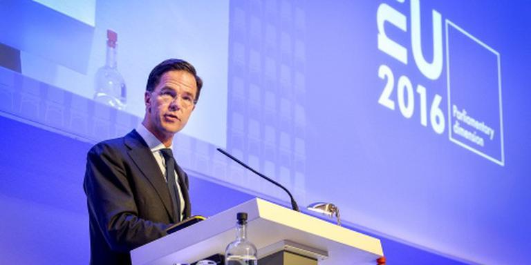 Rutte: ik was zichtbaar in campagne referendum