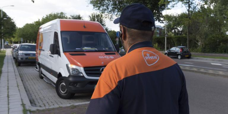 Bus pakketbezorger gestolen