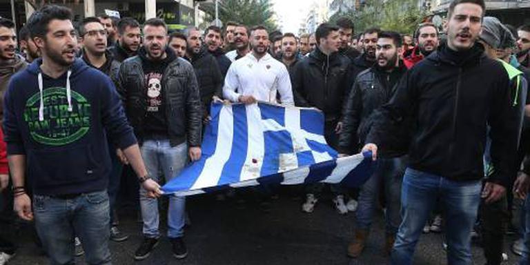 Rellen bij herdenking opstand Athene