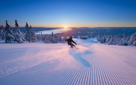 Skien in het Noorse Trysil.