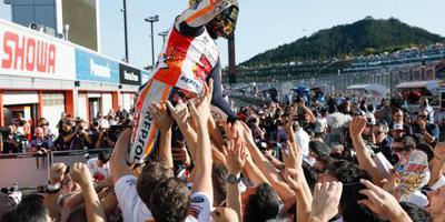 Vijfde wereldtitel Márquez in MotoGP