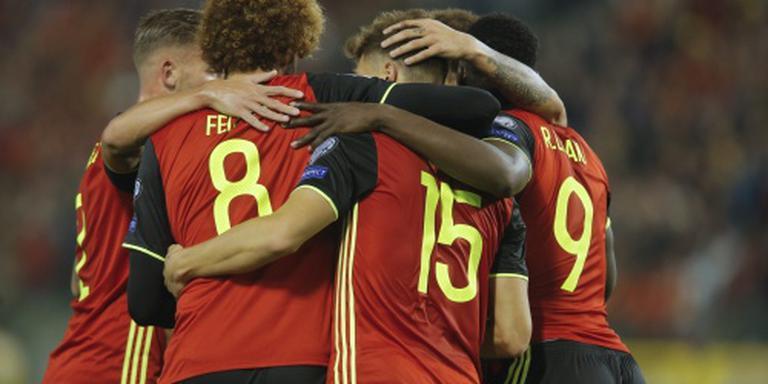 België vlot voorbij Bosnië en Herzegovina