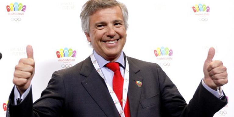 Samaranch junior vicepresident IOC