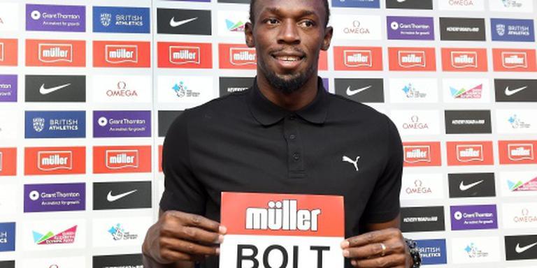 Herstelde Bolt klaar om te vlammen