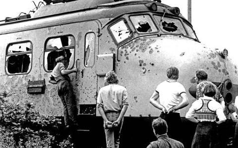 Mariniers in trein De Punt moeten wel getuigen