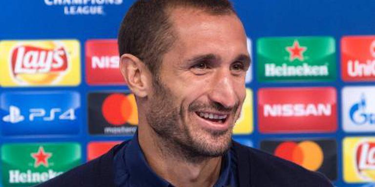 Chiellini paar weken aan de kant bij Juventus