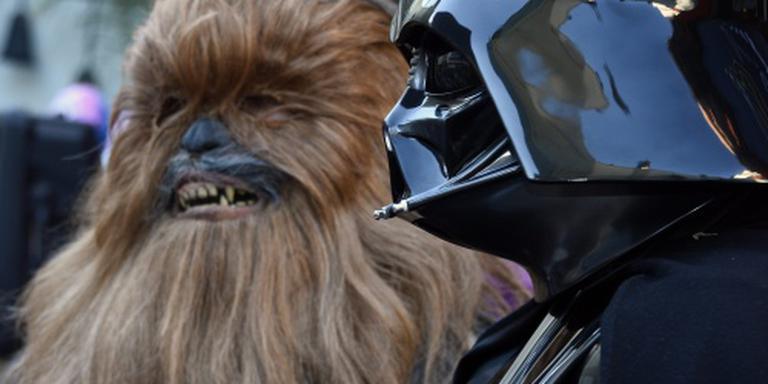Darth Vader en Chewbacca naar Amsterdam