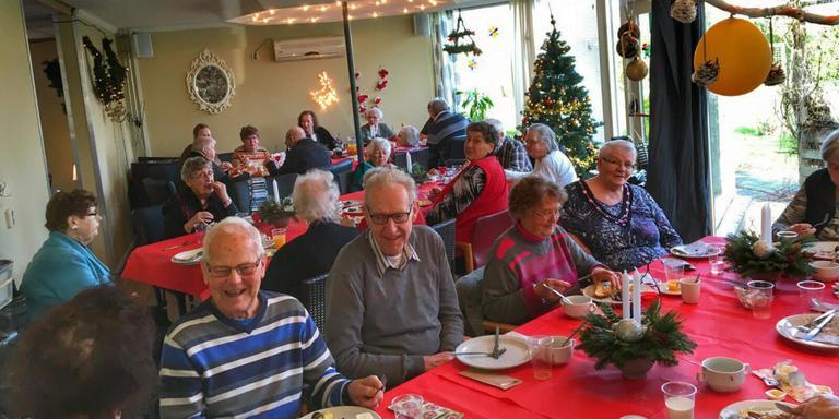 Kerstlunch voor honderd Heerendordt-klanten