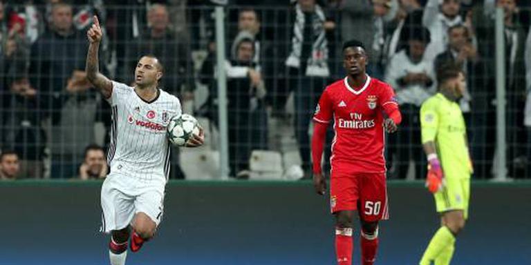 Benfica verspeelt voorsprong op Besiktas