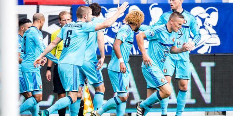 Feyenoord pakt ook in Tilburg de winst