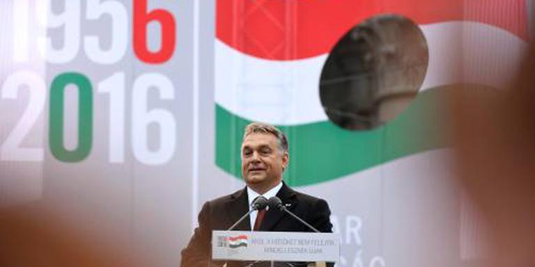 Orbán uitgefloten tijdens herdenking