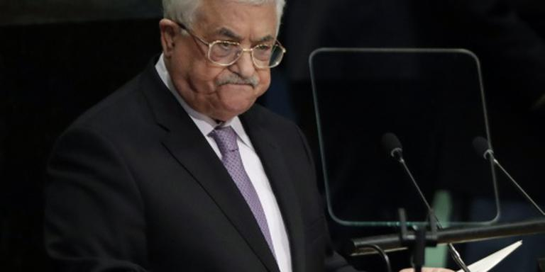 Abbas naar begrafenis Peres