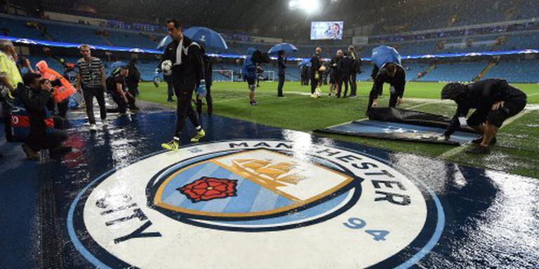 Manchester City - Borussia woensdag gespeeld