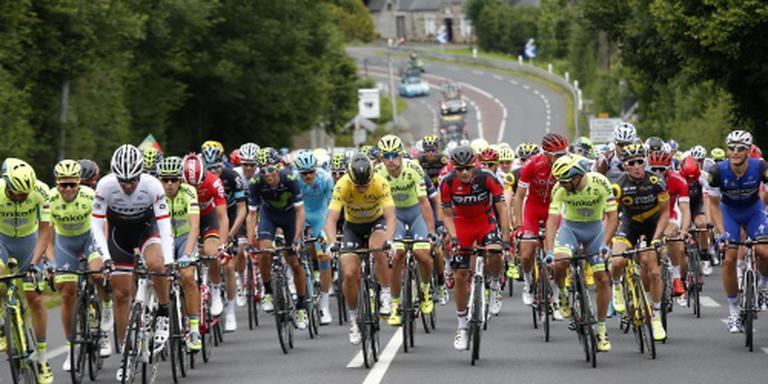 Cavendish sprint naar tweede ritzege in Tour