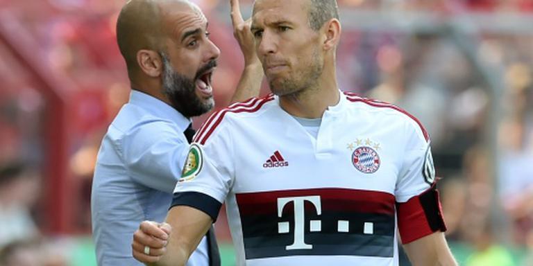 Opvallend verlies Bayern bij rentree Robben