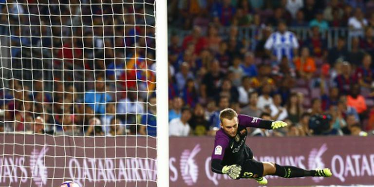 FC Barcelona verliest bij debuut Cillessen